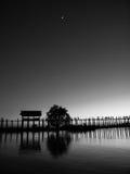 cuando rollo de la noche adentro Fotografía de archivo