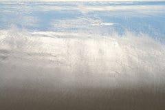 Cuando sale la marea Imagen de archivo libre de regalías