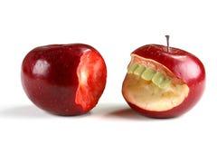 Cuando va la fruta malo Imagen de archivo