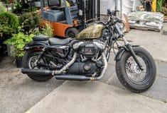 Cuarenta y ocho 1200 motocicletas Fotografía de archivo libre de regalías