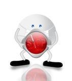 Cuarentena H1N1 libre illustration