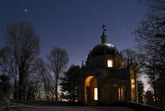 Cuarta capilla en la manera sagrada Imagen de archivo libre de regalías