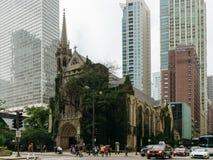 Cuarta iglesia presbiteriana en Chicago fotos de archivo libres de regalías