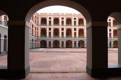 Cuartel de Ballajá. (Ballajá Barracks) in old San Juan Puerto Rico Royalty Free Stock Photo