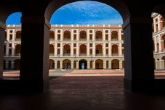 Cuartel de ballaja. Old san juan puerto rico Royalty Free Stock Photography