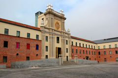 Cuartel del Conde Duque. Base of Guardias de Corps in the Independence war. Madrid, Spain Royalty Free Stock Photo