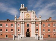 Cuartel del Conde Duque. Madrid, Spanje royalty-vrije stock afbeelding