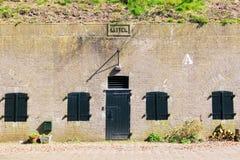 Cuartel Katten en Naarden, Países Bajos Fotos de archivo libres de regalías