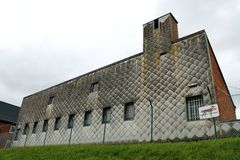 Cuarteles de Bastogne Foto de archivo