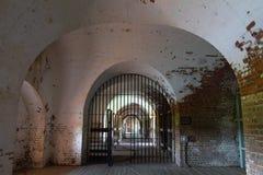 Cuarteles en el fuerte Pulaski Fotografía de archivo libre de regalías