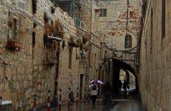Cuarto armenio, Jerusalén, Israel Imágenes de archivo libres de regalías