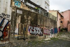 Cuarto de Alfama, Lisboa imágenes de archivo libres de regalías