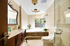 Cuarto de baño Imagen de archivo libre de regalías