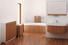 Cuarto de baño stock de ilustración