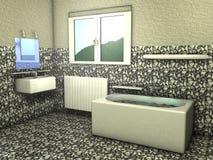 Cuarto de baño Fotografía de archivo libre de regalías