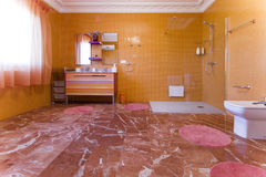 Cuarto de baño Foto de archivo libre de regalías