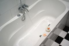 Cuarto de baño. Fotografía de archivo libre de regalías