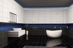 Cuarto de baño 3d interior Fotos de archivo libres de regalías