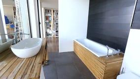 Cuarto de baño almacen de video