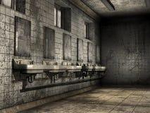 Cuarto de baño arruinado libre illustration