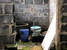 Cuarto de baño al aire libre Imagen de archivo libre de regalías