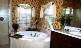 Cuarto de baño bonito Foto de archivo