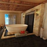 Cuarto de baño clásico Fotografía de archivo