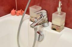 Cuarto de baño de la elegancia Fotos de archivo libres de regalías