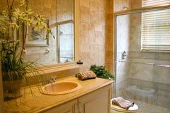 Cuarto de baño de lujo Foto de archivo libre de regalías