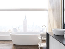 Cuarto de baño de New York City stock de ilustración