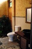 Cuarto de baño del diseñador Foto de archivo libre de regalías