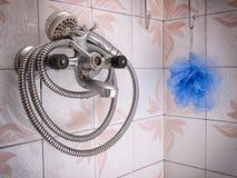 Cuarto de baño del Grunge Imagen de archivo libre de regalías