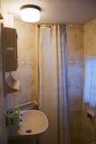 Cuarto de baño del hogar de motor Fotos de archivo libres de regalías