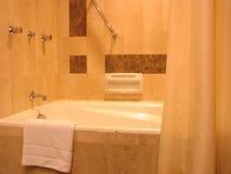 Cuarto de baño del hotel Foto de archivo