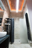 Cuarto de baño diseñado, pequeño Foto de archivo libre de regalías