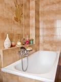 Cuarto de baño elegante Foto de archivo libre de regalías