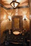 Cuarto de baño exclusivo Imagen de archivo libre de regalías