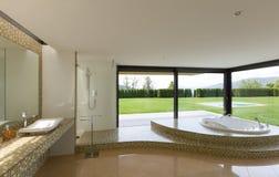 Cuarto de baño hermoso Imagen de archivo libre de regalías