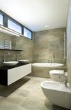 cuarto de baño hermoso interior Imagen de archivo