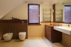 Cuarto de baño lujoso Imagen de archivo libre de regalías