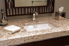 Cuarto de baño moderno. Foto de archivo libre de regalías