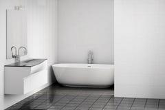 Cuarto de baño moderno stock de ilustración