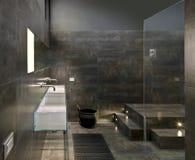 Cuarto de baño moderno fotografía de archivo