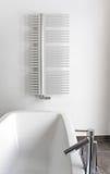 Cuarto de baño moderno con el baño Imagenes de archivo