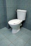 Cuarto de baño moderno con el watercloset Imagenes de archivo
