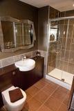 Cuarto de baño moderno lujoso Foto de archivo