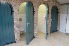 Cuarto de baño público Foto de archivo libre de regalías