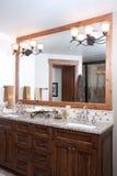 Cuarto de baño principal Foto de archivo libre de regalías