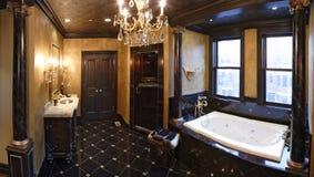 Cuarto de baño principal Foto de archivo