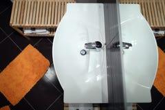 Cuarto de baño visto desde arriba Fotografía de archivo